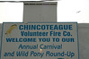 Chincoteague 83rd Annual Pony Round-up and Swim : 