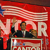 ERIC CANTOR'S VICTORY CELEBRATION : 
